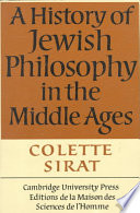 A History of Jewish Philosophy in the Middle Ages