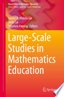 Large Scale Studies in Mathematics Education