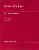Sexuality Law 2007 Case Supplement