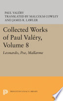 Collected Works of Paul Valery  Volume 8
