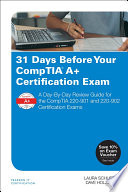 31 Days Before Your CompTIA A  Certification Exam