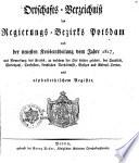 Ortschafts-Verzeichniß des Regierungs-Bezirks Potsdam nach der neuesten Kreiseintheilung vom Jahre 1817