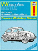 VW Super Beetle 1970 to 1972 Owners Workshop Manual