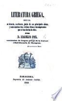 Literatura Griega, Etc : ...