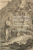 Wake Not the Dead  Book PDF