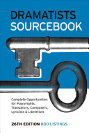 Dramatists Sourcebook For The Working Writer Donald Margulies