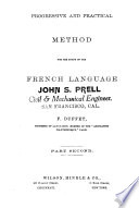 Progressive And Practical Method For The Study Of The French Language