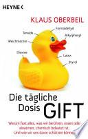 Die t  gliche Dosis Gift