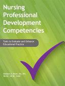 Nursing Professional Development Competencies