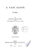 A fair Saxon Book PDF
