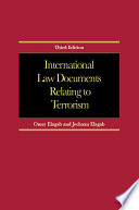 International Law Documents Relating To Terrorism