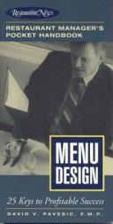 Restaurant Manager s Pocket Handbook