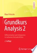 Grundkurs Analysis 2