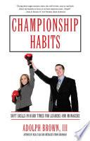 Championship Habits Pdf/ePub eBook
