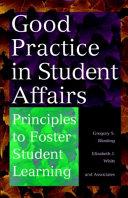 Good Practice in Student Affairs