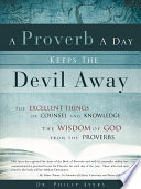 A Proverb a Day Keeps the Devil Away