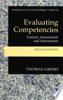 Evaluating Competencies : of legal competencies. the model is interpreted...