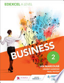 Edexcel Business A Level Year 2