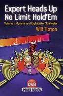 Expert Heads Up No Limit Hold'em Book