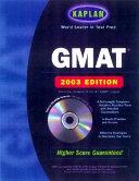 Kaplan GMAT 2003 with CD ROM