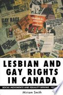 Lesbian and Gay Rights in Canada