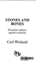Stones And Bones book