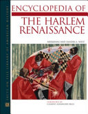 Encyclopedia of the Harlem Renaissance Renaissance During Which African American Artists Poets