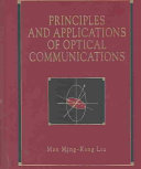 Principles and Applications of Optical Communications