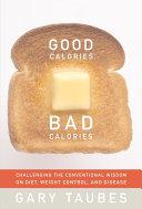 download ebook good calories, bad calories pdf epub
