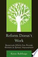 Reform Doesn t Work