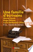 Une famille d ecrivains