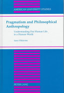 Pragmatism and Philosophical Anthropology