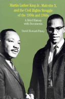 download ebook martin luther king, jr., malcolm x, and the civil rights struggle of the 1950s and 1960s + southern horrors and other writings + up from slavery pdf epub