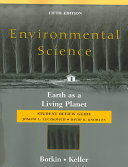 Environmental Science  Student Review Guide