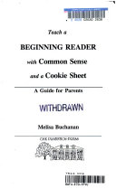 Teach a beginning reader with common sense and a cookie sheet