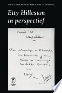 Etty Hillesum in perspectief