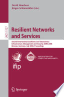 Resilient Networks And Services