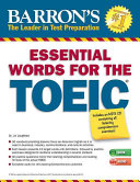 Barron s Essential Words for the TOEIC