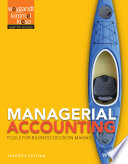 Managerial Accounting  Tools for Business Decision Making  7th Edition