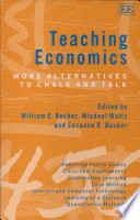 Teaching Economics: More Alternatives to Chalk and Talk