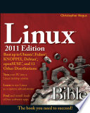 Linux Bible 2011 Edition