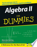 Algebra II For Dummies