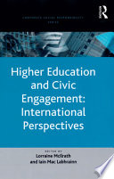 Higher Education and Civic Engagement  International Perspectives