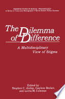 The Dilemma of Difference Book PDF