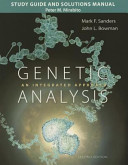 Study Guide And Solutions Manual For Genetic Analysis book