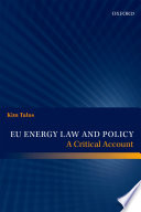EU Energy Law and Policy