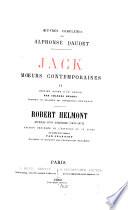 Jack  moeurs contemporaines  II  Robert Helmont