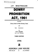 Dowry Prohibition Act  1961