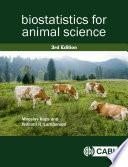 Biostatistics for Animal Science  3rd Edition