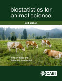 Biostatistics for Animal Science, 3rd Edition